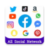 All in One Shopping App: Social Network Apps, News
